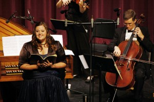 2009 New Young Artist Catherine Clarke performs J.S. Bach's Coffee Cantata ~ Thursday, June 11, 2009
