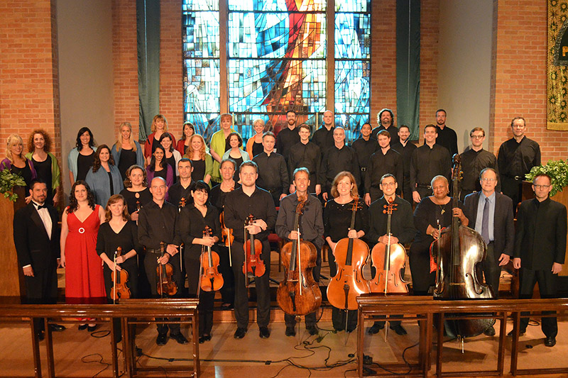 Conspirare Company of Voices, Victoria Bach Festival String Ensemble, composer Robert Kyr and conductor Craig Hella Johnson.  Songs of the Soul and The Cloud of Unknowing, June 1, 2013.