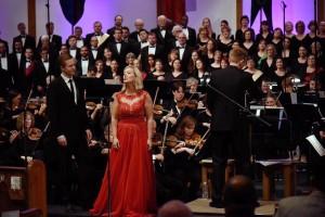 Tenor Eric Neuville and soprano Mela Dailey, Great Big Choruses ~ June 6, 2015